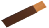 Brown PVC Covered Copper Tape