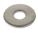 Stainless Steel Penny Washer Form G
